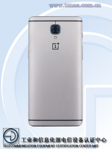 Агентство TENAA рассекретило характеристики OnePlus 3