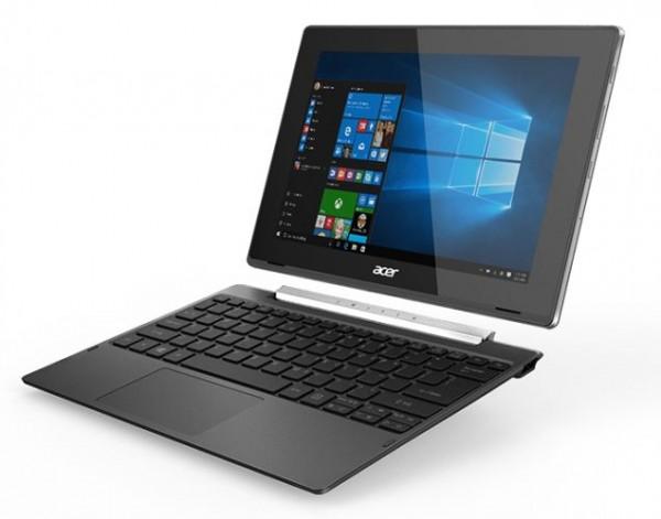 Acer Switch V 10 — гибрид со сканером отпечатков пальцев и портом USB Type-C