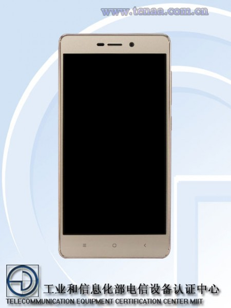 В TENAA «засветился» смартфон Xiaomi Redmi 3A с емким аккумулятором