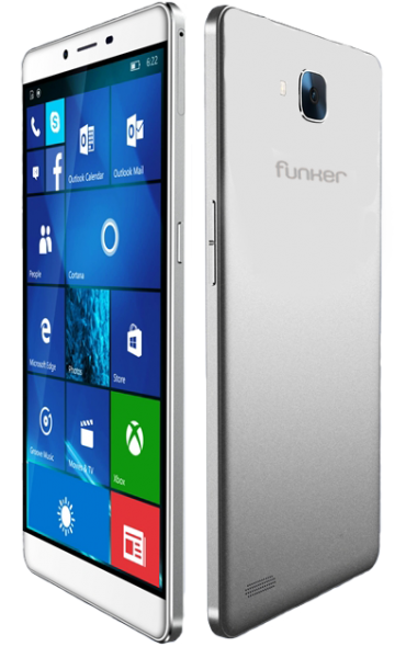 Funker W6.0 Pro 2 — фаблет под управлением Windows 10 Mobile