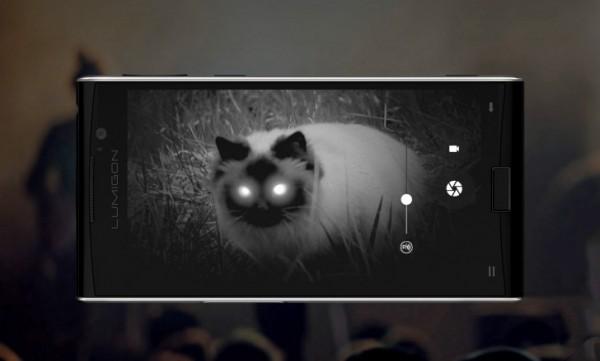 Lumigon представила смартфон с ночным видением — первый в мире