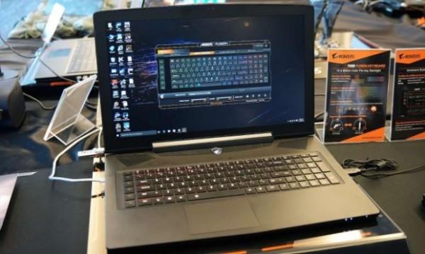 AORUS X7 Pro — игровой ноутбук с 2 графическими картами