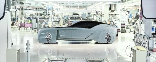 Rolls-Royce представила автомобиль будущего 103EX