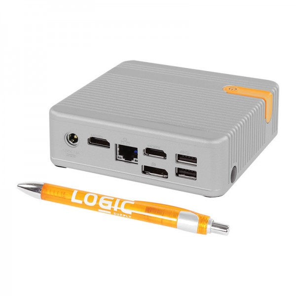 Logic Supply CL100 — алюминиевый неттоп с пассивным охлаждением