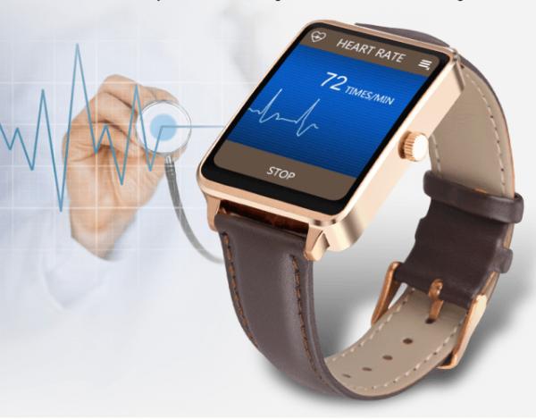 Oukitel A58 — умные часы с пульсометром и защитой от воды