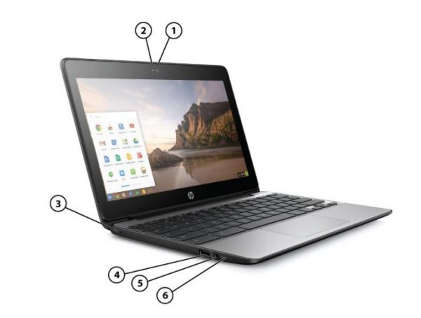 Chromebook 11 G5 — новый хромбук от HP