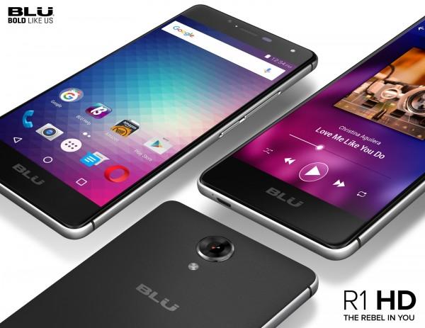 Blu R1 HD — «американский» смартфон за 100 долларов
