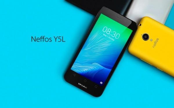 TP-LINK Neffos Y5L: компактная модель под управлением Android 6.0