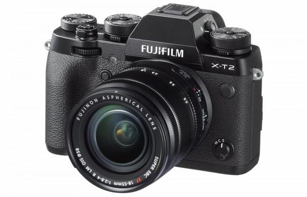 Fujifilm X-T2: беззеркальная камера с поддержкой 4K