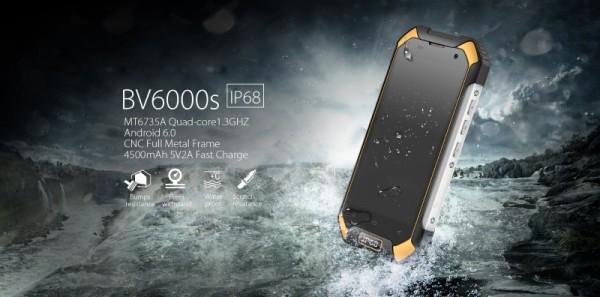 Blackview BV6000S: недорогой «неубиваемый» смартфон