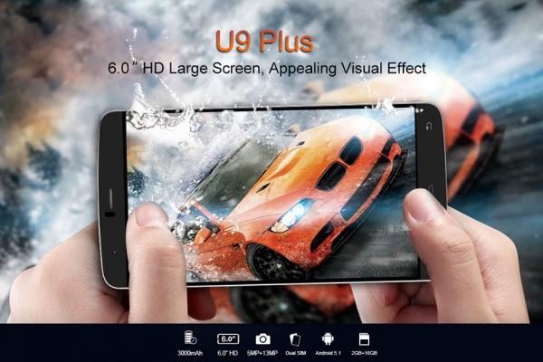 iNew U9 Plus: 6-дюймовый смартфон с поддержкой 4G