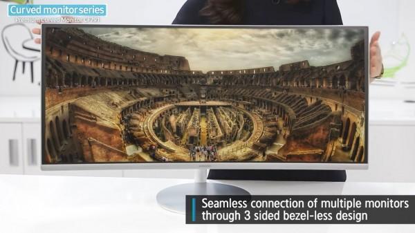 Samsung CF791 — изогнутый 34-дюймовый монитор