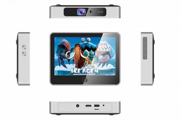 Sunty SP-001: мини-ПК с аккумулятором, дисплеем и проектором