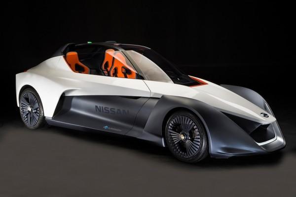 BladeGlider — электрический спорткар от Nissan