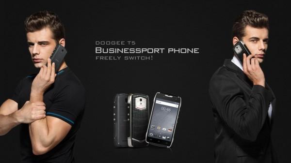 Doogee представила смартфон с батареей на 4500 мАч