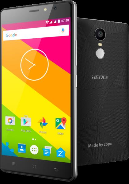 70-долларовый Zopo Hero 2 имеет «металлический» корпус и сканер отпечатков