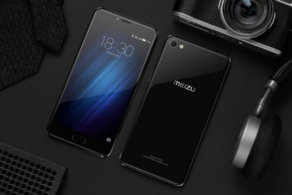 Meizu представила стеклянный смартфон U20