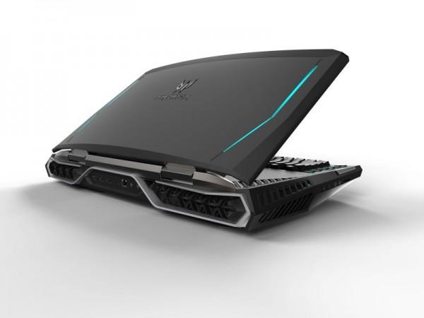 Acer Predator 21 X — мощный портативный ПК с вогнутым экраном