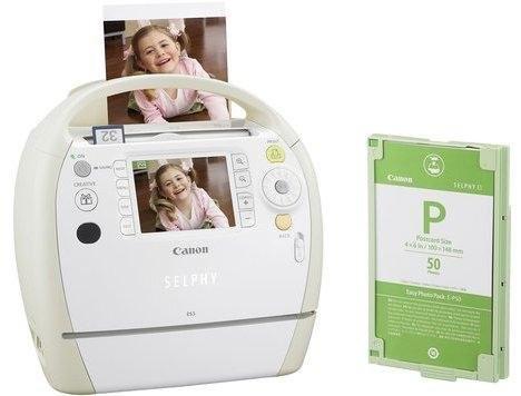 Новые компактные фотопринтеры Canon Selphy