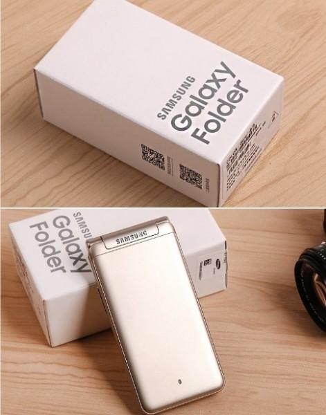 Новые фото «раскладушки» Samsung Galaxy Folder 2