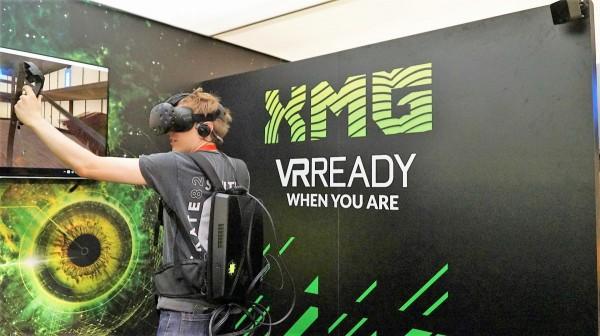 XMG Walker: компьютер-рюкзак для виртуальной реальности