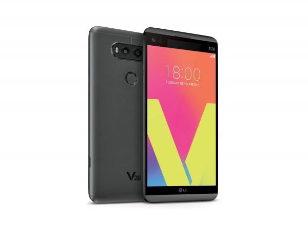 LG V20 — новый 5,7-дюймовый флагман LG Electronics