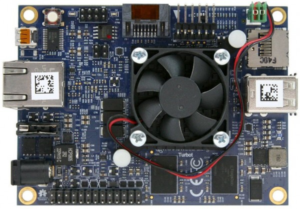 MinnowBoard Turbot Quad — одноплатный ПК с процессором Intel Atom
