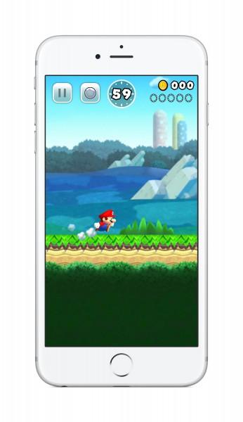 Super Mario официально появился на iPhone