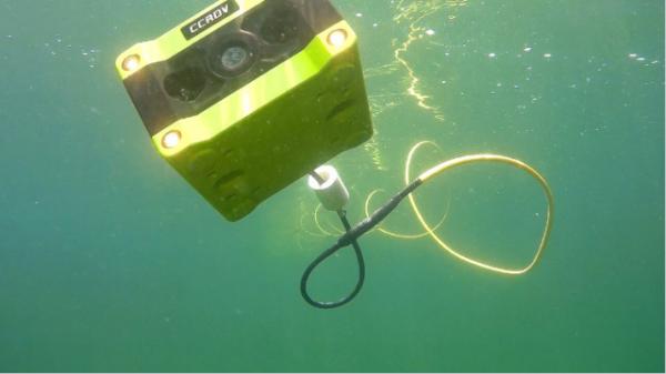 CCROV — подводный дрон с камерой 4K
