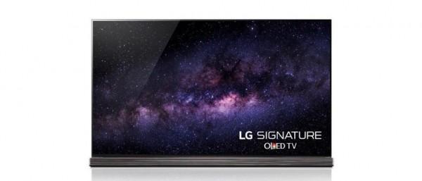 LG представила 77-дюймовый телевизор Signature OLED TV