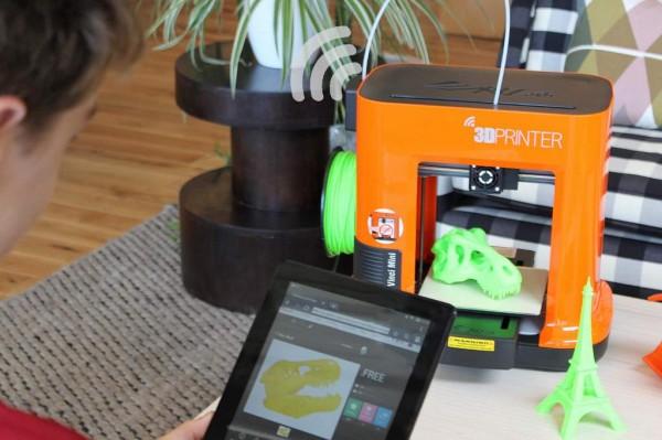 da Vinci Mini — доступный 3D-принтер