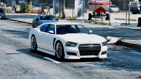 GTA 5 Redux — фотореалистичная Grand Theft Auto V