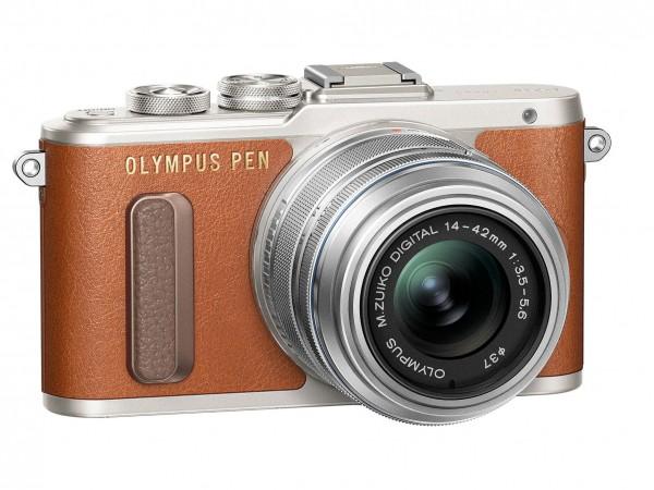 Olympus PEN E-PL8 — беззеркалка для поклонников ретро