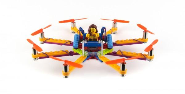 Flybrix — дрон из LEGO