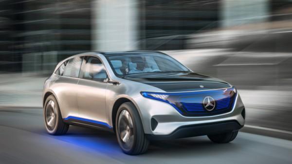 Анонсирован электрический кроссовер Mercedes-Benz Generation EQ
