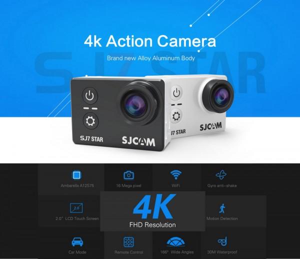 SJCAM SJ7 STAR: спортивная камера с поддержкой 4K