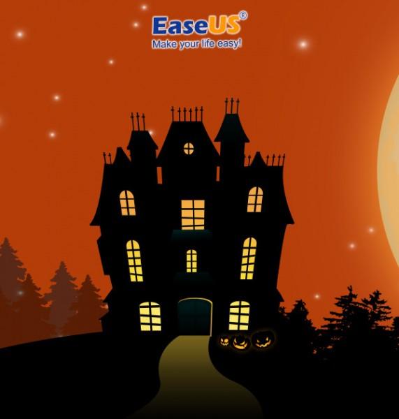 Подарки на Хэллоуин: выиграйте  и программы EaseUS для восстановления данных