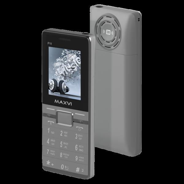 Maxvi P11 — долгоиграющий сотовый с внушительным динамиком
