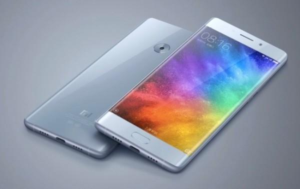 Xiaomi Mi Note 2: смартфон с экраном, изогнутым с двух сторон