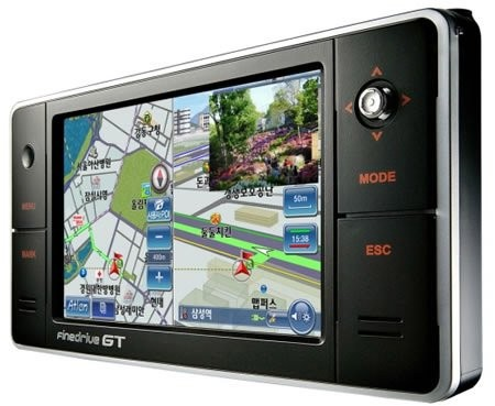 Мультимедийный GPS-навигатор FineDrive GT