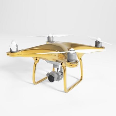 DJI Phantom 4 Gold Edition — дрон из чистого золота