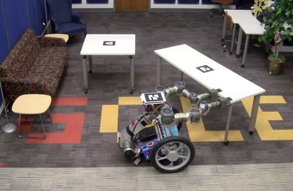 Роботы научились разбирать препятствия