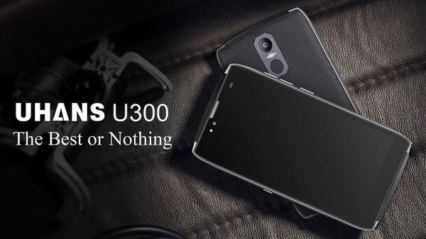 Uhans U300: смартфон с корпусом из кожи и титанового сплава