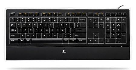 Светящаяся клавиатура от Logitech