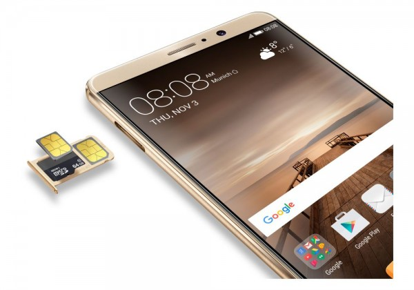 Huawei Mate 9: флагман с большим экраном и камерой Leica