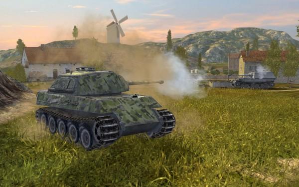 «Мобильная» World of Tanks: Blitz появилась в Steam