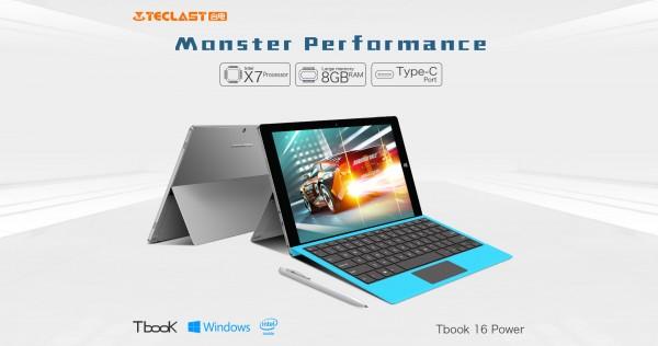 Teclast Tbook 16 Power — планшет с 8 ГБ оперативной памяти