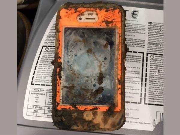 Найден iPhone-утопленник