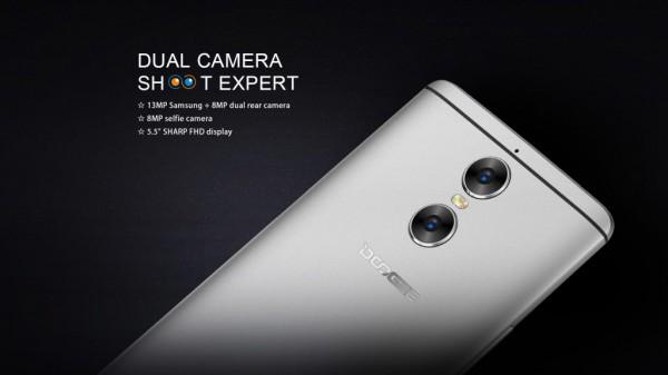 Doogee Shoot 1 — смартфон со сдвоенной камерой