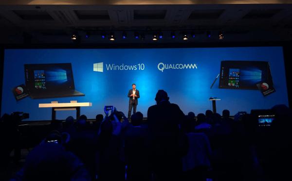 Windows 10 запустили на Qualcomm Snapdragon